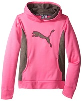 Puma Kids Cat Hoodie w/ Thumb Hole (Big Kids)