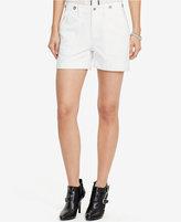 Lauren Ralph Lauren Denim Patch Pocket Shorts