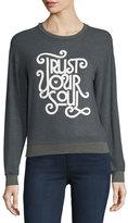 Spiritual Gangster Savasana Trust Your Soul Script Pullover Sweatshirt