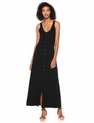Karen Kane Women's Button-UP Alana Maxi Dress