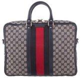 Gucci GG Web Briefcase