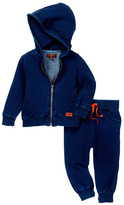 7 For All Mankind Hoodie & Jogger 2-Piece Set (Baby Boys)