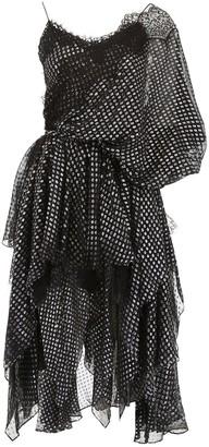 Faith Connexion Asymmetric Georgette Dress