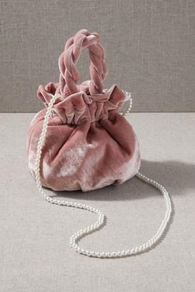 Cassis Velvet Bag