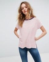 Tommy Hilfiger Stripe Contrast Ringer T-Shirt