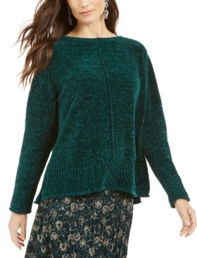 Style&Co. Style & Co Petite Chenille Pullover Sweater, Created for Macy's