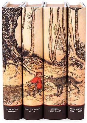 LIBRARY Set of 4 Collectors Fables Book Set - Juniper Books