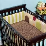 Kids Line Little Missmatched Silly Safari Crib Sheet