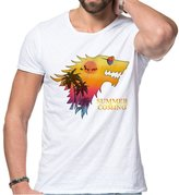 Games of Thrones summer is coming game of thrones for men T shirt
