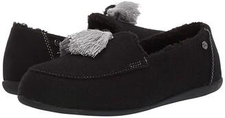Spenco Hearthside Slipper (Black 1) Women's Slippers