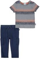 Splendid Baby Boy Stripe Knit Pant Set