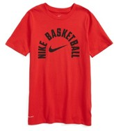 Nike Boy's Dry Basketball Graphic T-Shirt