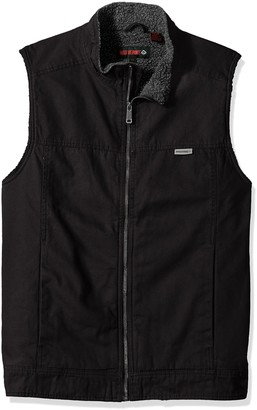 Wolverine Men's Big-Tall Big and Tall Porter Sherpa Lined Vest