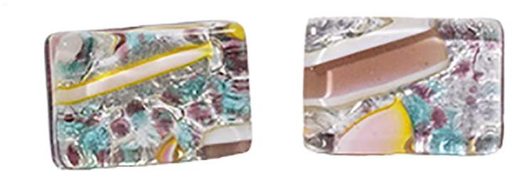 Murano Artisans Glass Cuff Links
