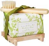 Gianna Rose Atelier Gardeners Soap on Wooden Tray - Lemon and Clove Bud
