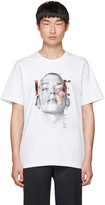Juun.J White hide Away T-shirt