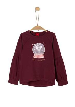 S'Oliver Girl's 53.911.31.7467 Long Sleeve Top