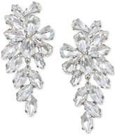 Badgley Mischka Crystal Arch Drop Earrings