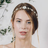 Debbie Carlisle Boho Flower Crown Wedding Headband Loretta