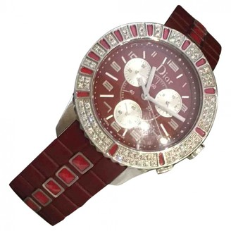 Christian Dior Christal Chronographe Red Steel Watches