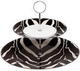 Roberto Cavalli Zebra 2 Tier Cake Stand