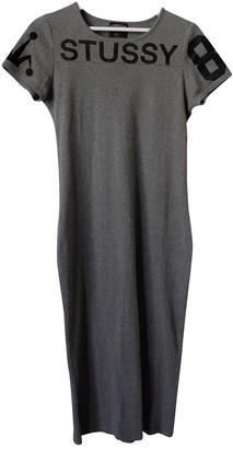 Stussy Grey Cotton Dresses