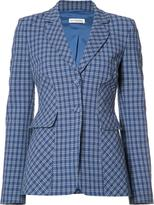 Altuzarra checked blazer - women - Cotton/Spandex/Elastane - 38