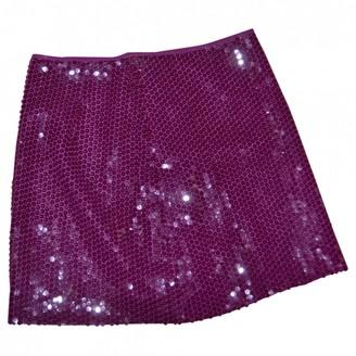 Moschino Cheap & Chic Moschino Cheap And Chic Burgundy Skirt for Women