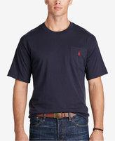 Polo Ralph Lauren Men's Big and Tall Pocket Cotton T-Shirt