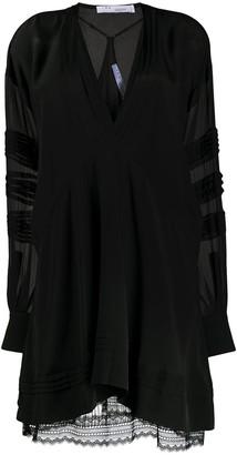 IRO Lace-Trimmed Shift Dress
