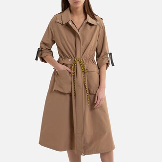 Oakwood Cosmic Mid-Length Trench Coat with Zip Fastening