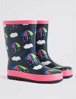 Marks and Spencer Kids' Novelty Umbrella Welly Boots