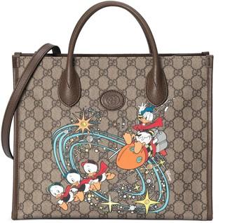 Gucci Disney x Donald Duck tote bag