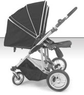 Stroll-Air DUO 4 Wheel Double Twin Baby Stroller (Black)