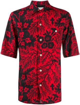 Alexander McQueen Ivy Creeper print shirt