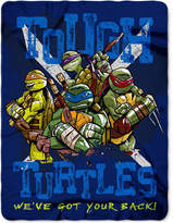 Northwest Company Teenage Mutant Ninja Turtles Tough Turtle Blues Fleece Throw