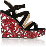 Paul Andrew WOMEN'S LOTUS MULTI-STRAP WEDGE SANDALS