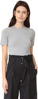 DKNY Short Sleeve Crew Neck Bodysuit