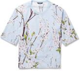 Dolce & Gabbana Oversized Blossom-Print Cotton T-Shirt