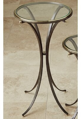 Global Views Ram Ring End Table