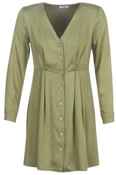 Betty London LAKI women's Dress in Kaki