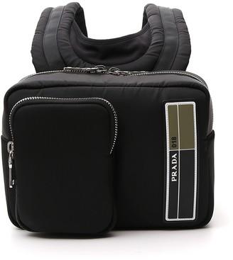 Prada Logo Mini Backpack