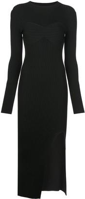 KHAITE Evelynne knitted dress