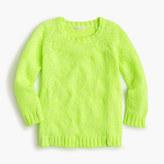 J.Crew Girls' marled popover sweater