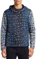 Fendi Nylon Leopard Print Jacket