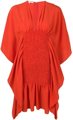 Stella McCartney draped elasticated dress