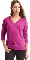 Gap Wool- cashmere blend V-neck sweater