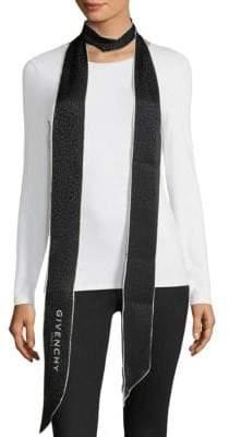 Givenchy Paris Silk Bandeau