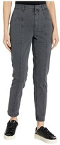 Rebecca Taylor Stretch Twill Pants (Washed Black) Women's Casual Pants