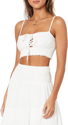 MinkPink Shifting Sands Crop Camisole